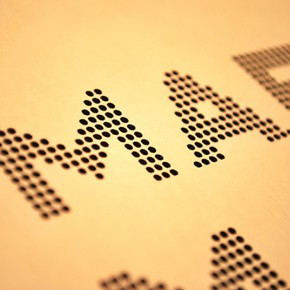 ドットマトリクスのロゴ