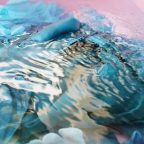アトリエで藍染め体験