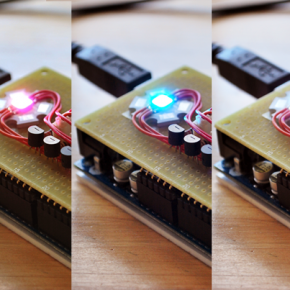 """東北芸術工科大学プロダクトデザインWS : """"Arduino+LED+Processing"""""""