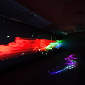 光と音のインスタレーション「Ray of Formula 1」in 西武渋谷「The F1展」