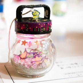 宮城県大崎市立古川南中学校の卒業制作「ひかりのこびん」