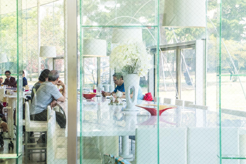 美術館のレストラン