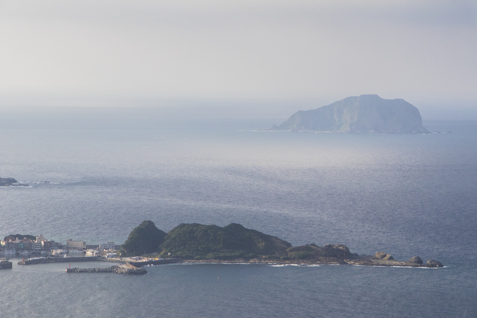 台湾・九份からの眺め