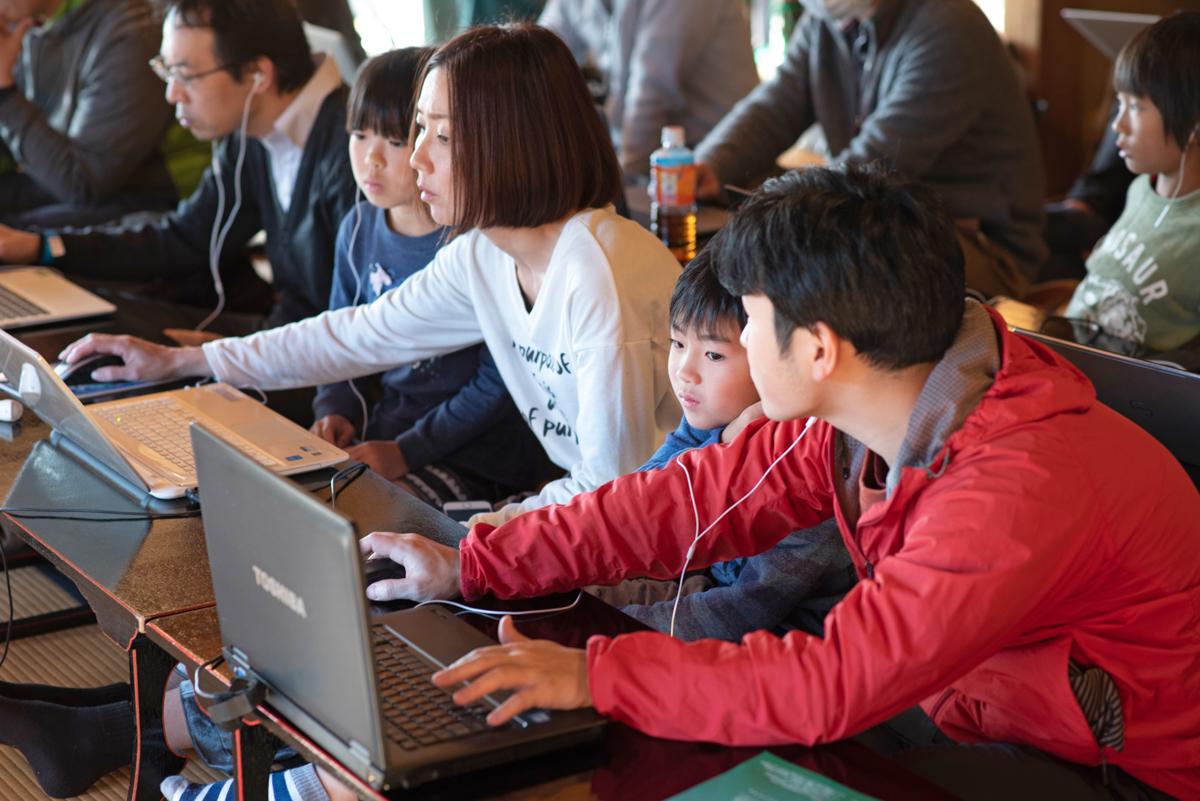音をプログラムで作る参加者
