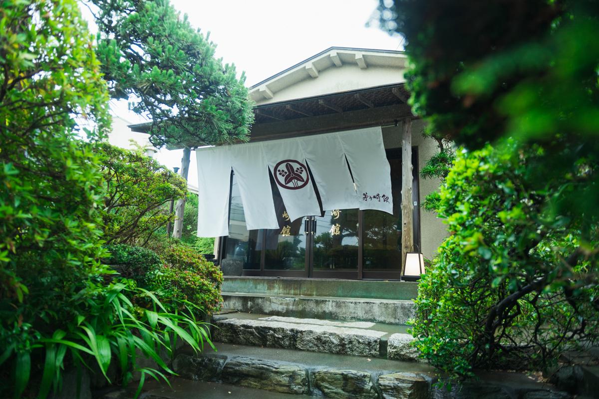 茅ヶ崎館の入口