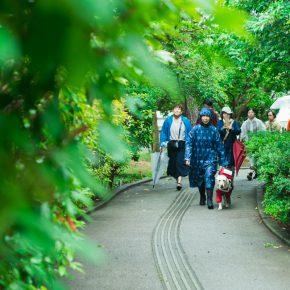 「美術館まで(から)つづく道」視覚の感覚特性者と盲導犬と歩くフィールドワーク〈3〉