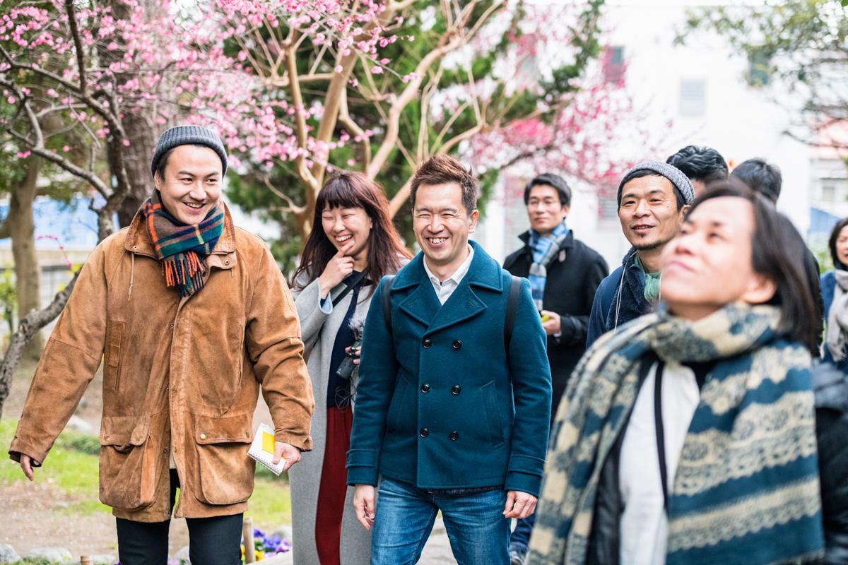 表現者と感覚特性者が茅ヶ崎を歩くフィールドワーク