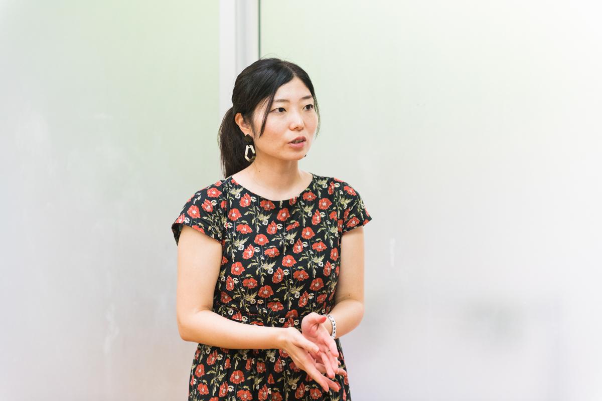 資生堂グローバルイノベーションセンター香料開発グループの研究員、稲場香織さん
