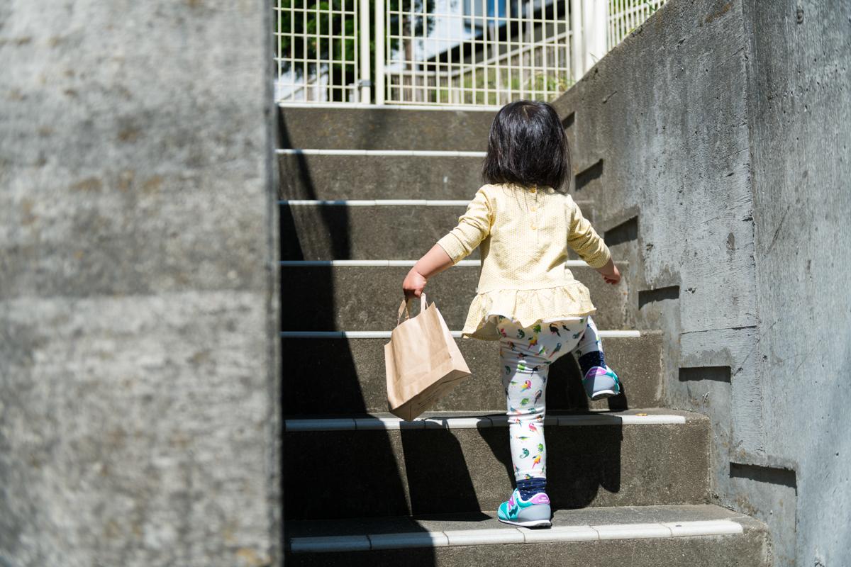 階段を見つける