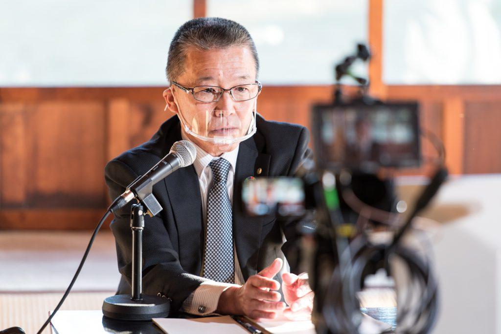 松戸市教育長の伊藤純一氏